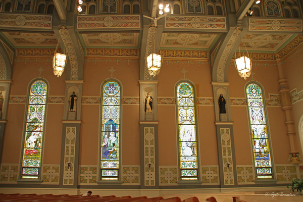 Stained glass windows - by Thomas A. O'Shaughnessy / Old St. Patrick's Church