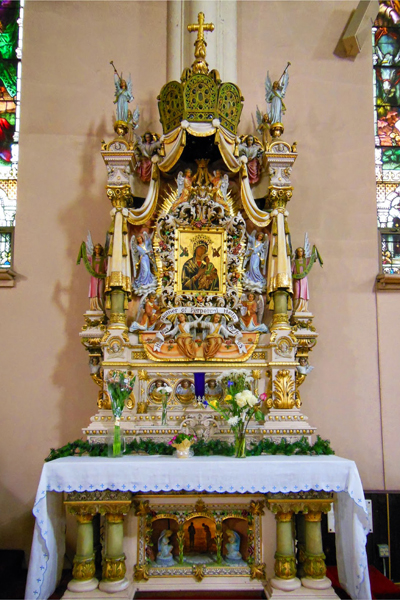 Our Lady of Perpetual Help altar / St. Michael's Church