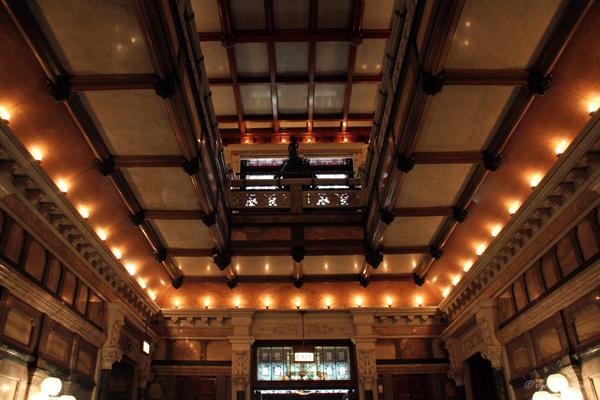 Main Hall at Nickerson Mansion