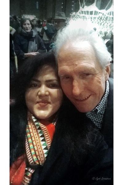 Selfie with Theo Jansen