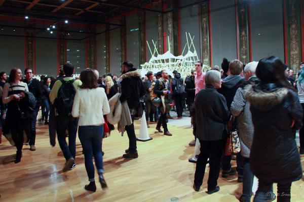 Opening Reception / Strandbeest - by Theo Jansen
