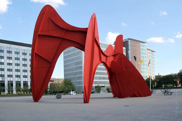 La Grande Vitesse - by Alexander Calder