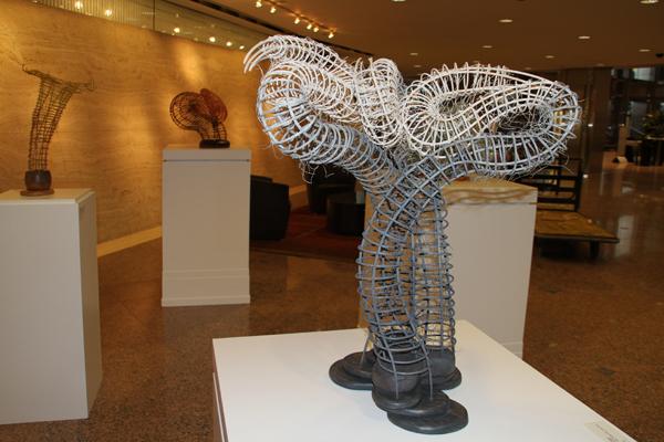 2014: Donna Hapac at Willis Tower Sculpture Exhibition