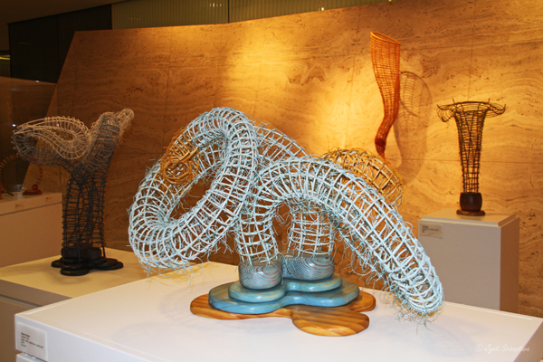 2014: Donna Hapac at Willis Tower Sculpture Exhibition