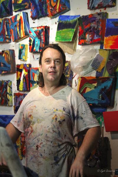 2014 Studio Visit: Darrell Roberts