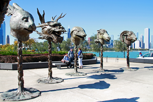 Zodiac Heads - by Ai Weiwei