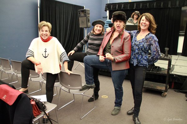 From Left: Suzanne Cohen-lange, Christine Rojek, Nicole Beck and Janet Austin.