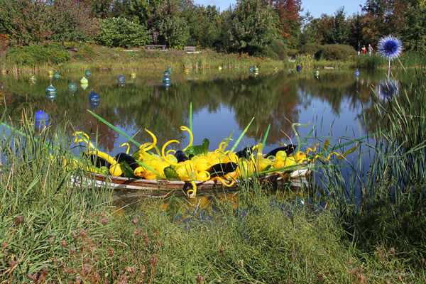 Yellow Boat - by Dale Chihuly / A New Eden