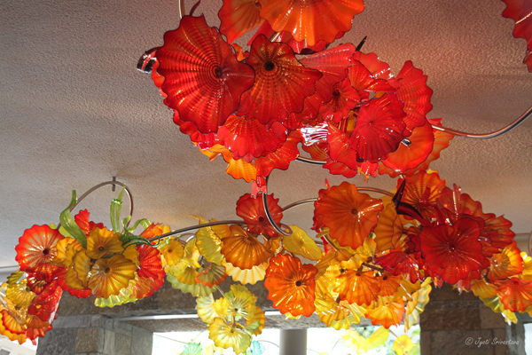 Lena's Garden  - by Dale Chihuly / Taste of the Gardens Café