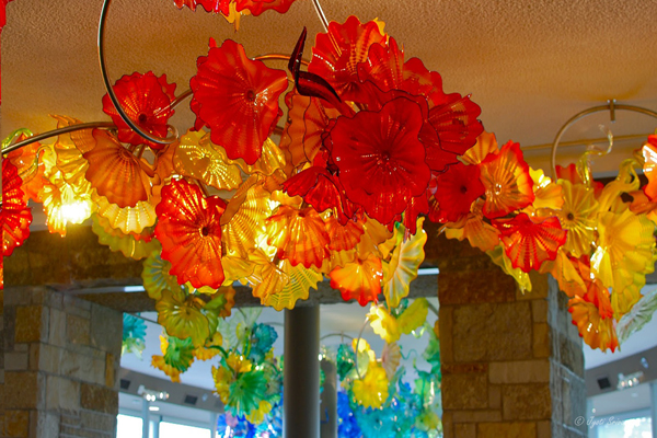 Lena's Garden - by Dale Chihuly / Taste of the Gardens Café.