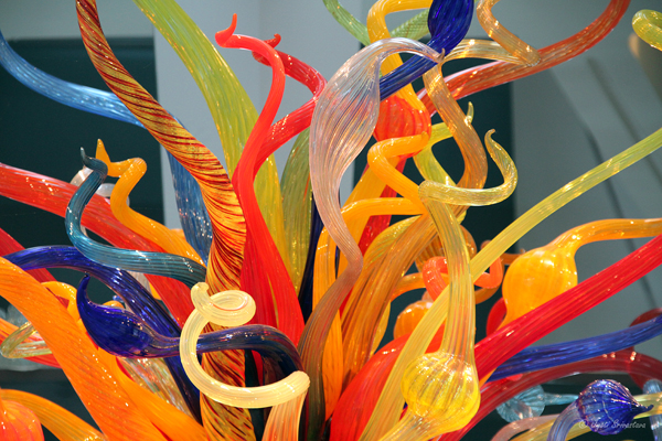 Isola di San Giacomo in Palude - by Dale Chihuly / Milwaukee Art Museum