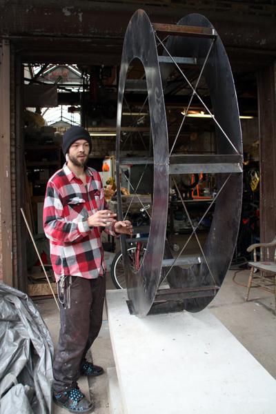 2011 Studio Visit:  Jason Hawk