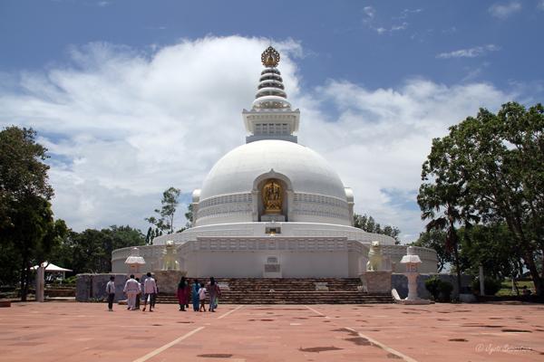 World Peace Pagoda / Rajgir