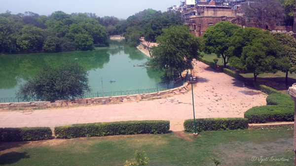 The Hauz Khas Complex developed around the water reservoir