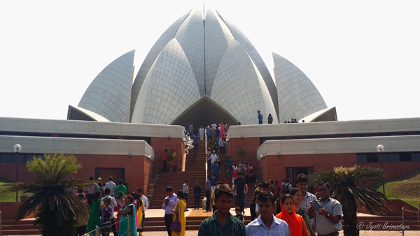 Lotus Temple - Bahai House of Worship / Delhi.