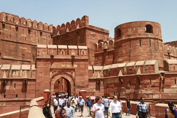 Amar Singh Gate / Agra Fort, Delhi