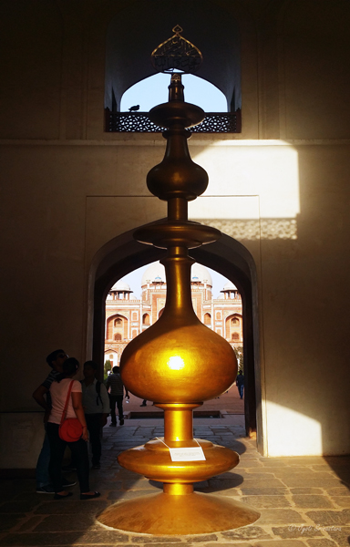 Humayun's Tomb finial