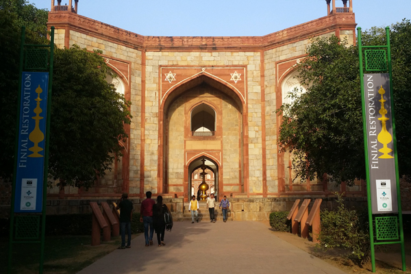 Humayun's Tomb: Entrance - Gateway on the south