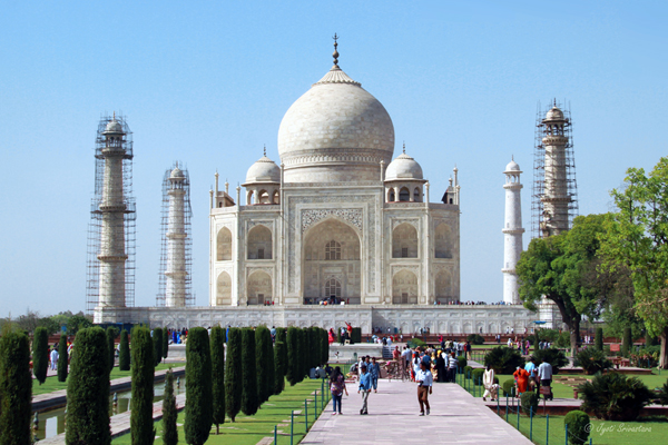 Taj Mahal - A World Heritage Site.