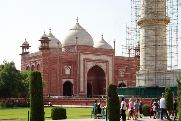 Taj Mahal: Guest House