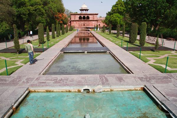 Taj Mahal: Garden