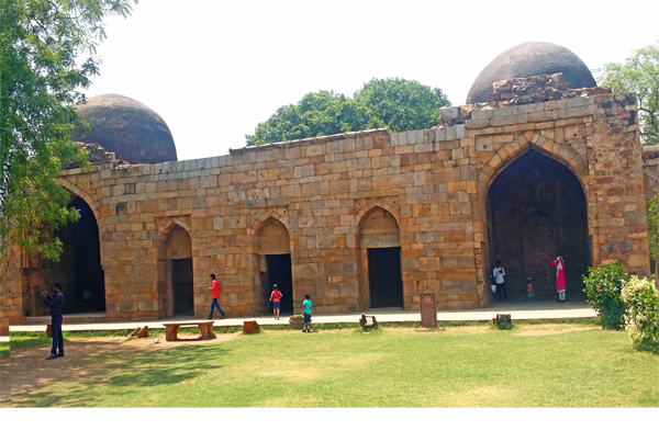 Alauddin Khalji's Tomb and Madrasa / Qutb Complex, Delhi.