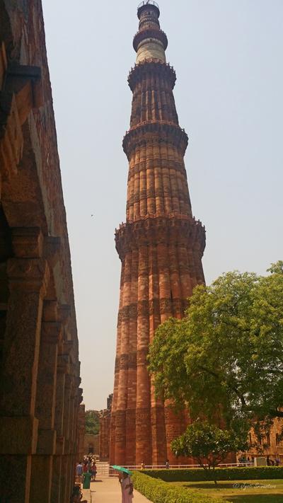 Qutb Minar / Qutb Complex, Delhi.