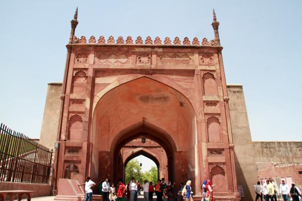 Shah Jehan Gate / Agra Fort