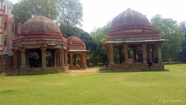 Haus Khas Complex, Delhi.