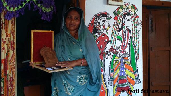 Madubani Art - Dulari Devi