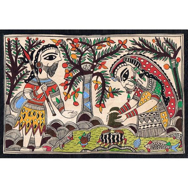 Madhubani Art / Gift by Dulari Devi