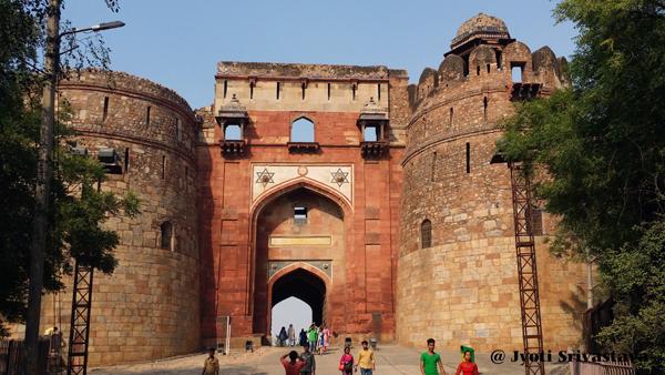 Bara Darwaza [Main Gate] / Purana Kila / Delhi