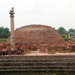 Kolhua - Ashokan Pillar and Anand Stupa, Vaishali/ Bihar