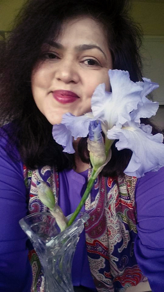 2016 Selfie with Flower series: Iris