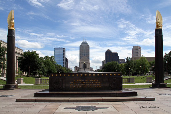 Cenotaph Square in the American Legion Mall