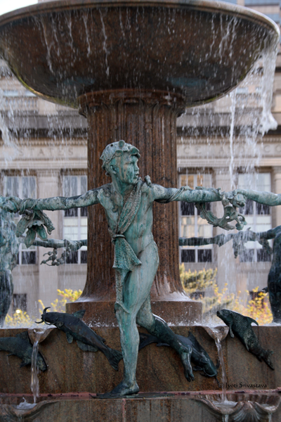 Richard J. Depew fountain /  University Park
