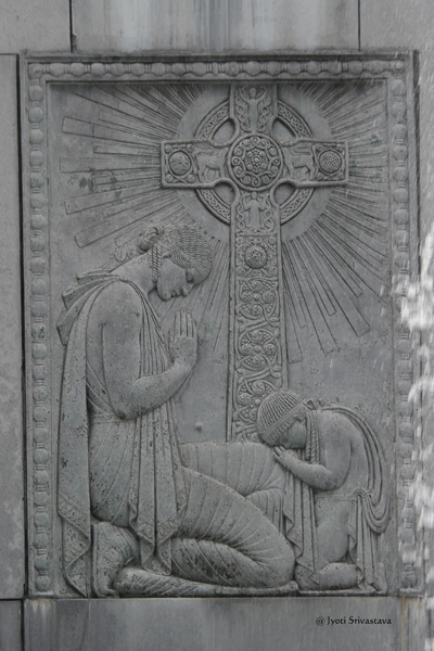 Religion - by Henry Hering /  Veterans Memorial Plaza