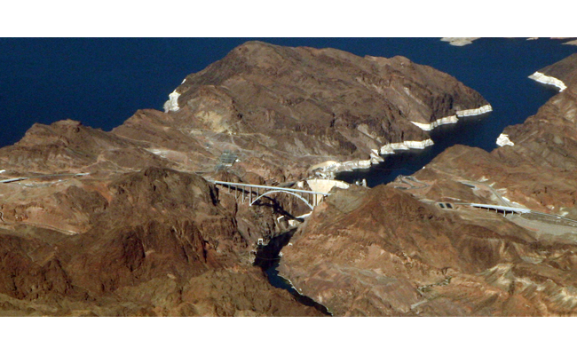Hoover Dam Bypass / Image by Doc Searls  via Wikimedia Commons