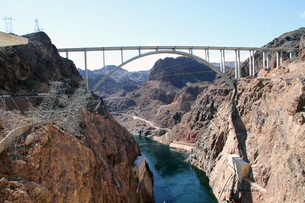 Hoover Dam - Downstream
