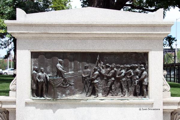 Oliver P. Morton Monument