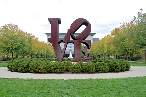 Love - by Robert Indiana