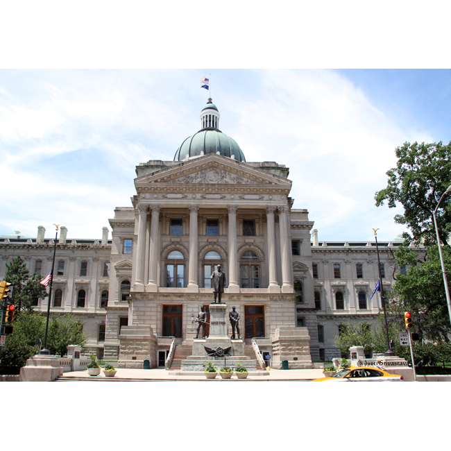2016 vacation indiana indianapolis indiana state house for Cost to build a house in indiana