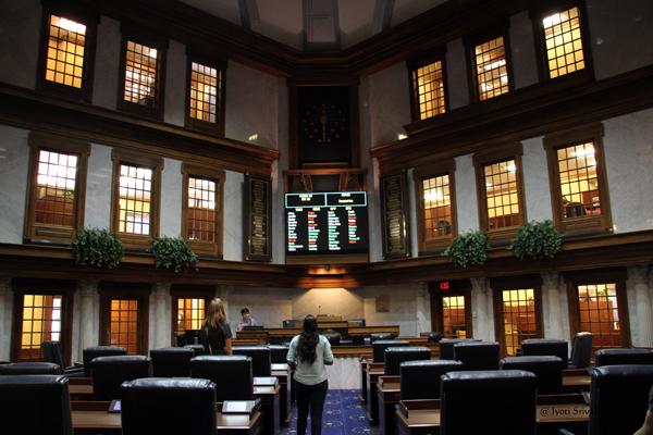 Senate chamber / Indiana State House