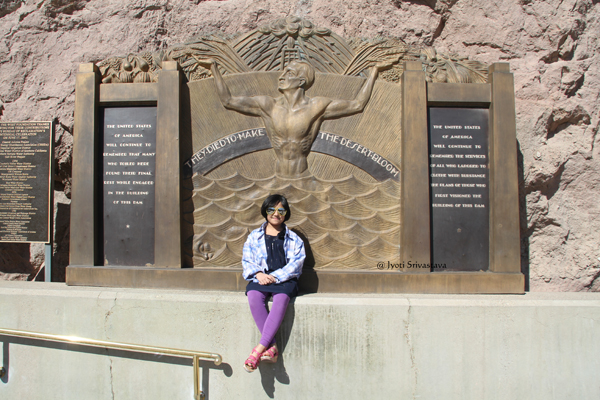Memorial to Hoover Dam Dead - by Oskar Hansen