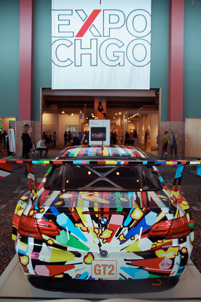 Art Car - by Jeff Koons / 2016 EXPO Chicago