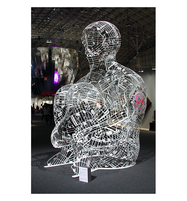 Silent Music - by Jaume Plensa