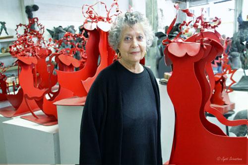 2014 Studio Visit: Ruth Aizuss Migdal