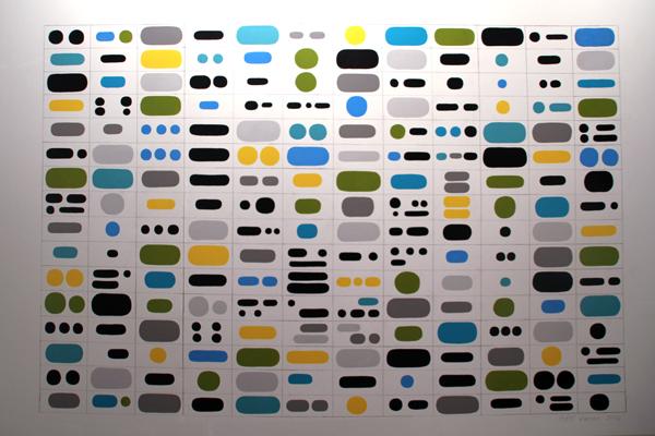 Wall Grapheme 3, [2016] - by Matt Magee