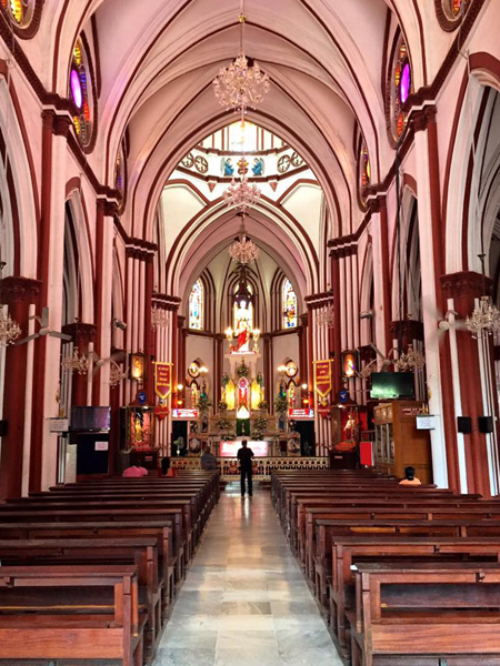 Basilica of the Sacred Heart of Jesus / Pondicherry