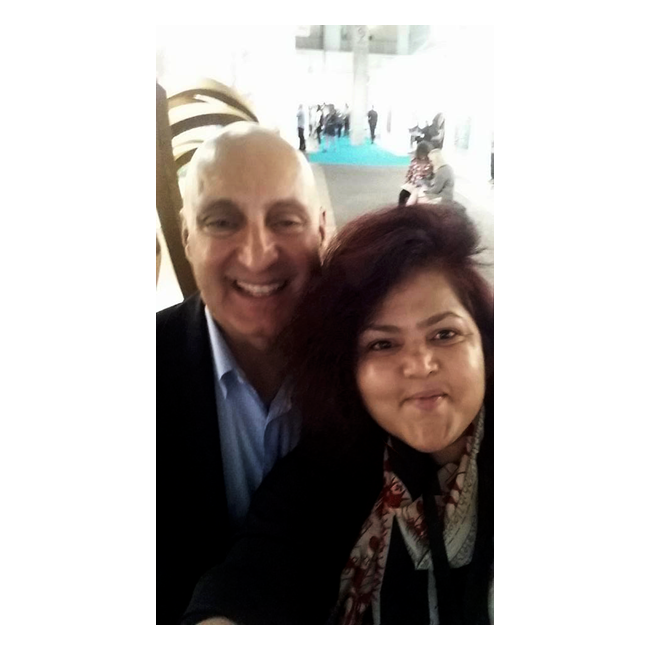 With Tony Karman,  President and Director of EXPO Chicago.